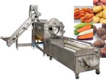 Potato Peeling & Polishing Line
