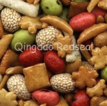Mixed Rice Crackers & Coated Peanuts
