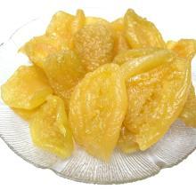 Sweet dried yellow peach
