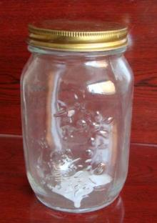 1000ml glass jar