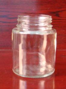 160ml round glass jar