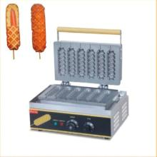 Hot Sale 220v/110v Electric Hot Dog Lolly Waffle Maker Machine