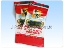 10kg Rice Gusseted Zip Lock Packaging Bag