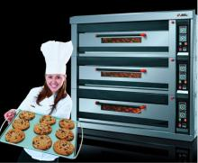Best Price of 3 deck 9 trays Luxury Electric Oven NFD-90F