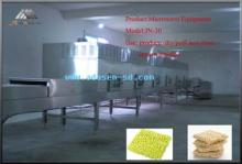 Microwave non-fried instant noodles equipment
