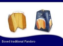 Traditional Pandoro