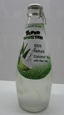 Coconut Water with Aloe Vera