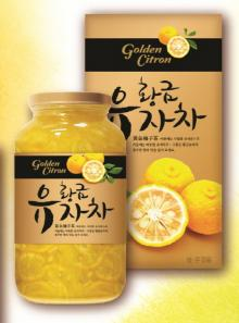 Gold Yuzu Citron Tea