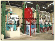 maize flour milling factory