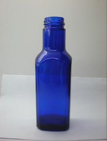 true color glass bottle