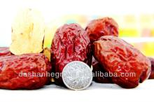Dried red date and date fruit with large quantity jujube