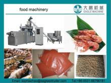 sinking shrimp/fish food making machine/extruders