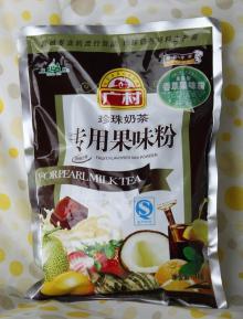 fruit flavour powder