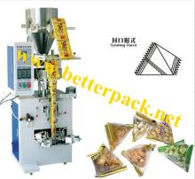 automatic sugar nuts  pyramid  shape plastic pouch packaging machine