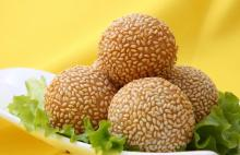 frozen sesame ball