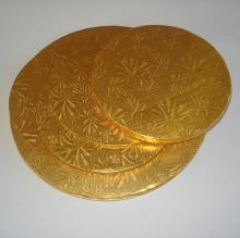 Gold Metal Aluminum Lid With Embossing Products China Gold