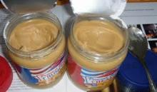 canned peanut butter