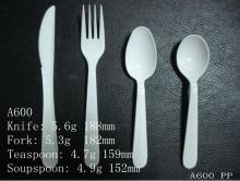 plastic disposable heavy weight cutlery