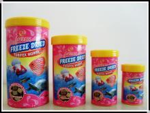 Freeze dried tubifex  worm s