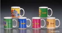 fine porcelain advertising mugs and cups