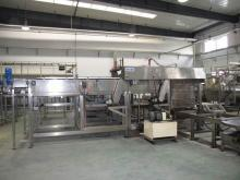 Automatic sterilization Cage Loader Machinery for food/beverage filled cans