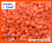 Замороженная нарезанная кубиками морковь