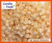 IQF   нарезанный   кубиками   картофель