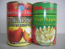 canned sliced apple solid pack