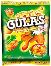 Gulas Plus (Tamarind Candy with Vitamin C and Tamarind Juice)