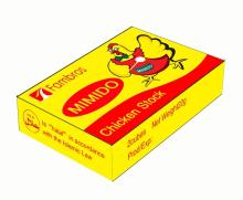 Chicken cubes-22g/box