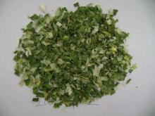 Dehydrated spring onion flakes 3mm
