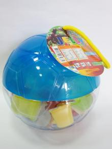 Soccer Ball Jar Jelly-Blue