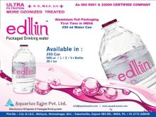 Mineral Water, Packaged Drinking Water, Bottled Water