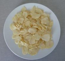 dried garlic flake