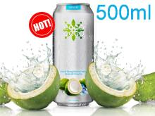 Young Coconut Water Private Label 500ml Can