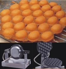 110V Stainless Steel Electric Eggettes Egg Waffle Maker with US Plug Adapter