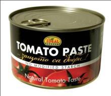 Tomato paste metal can