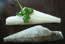 frozen   haddock  fillet