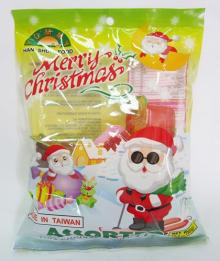 Xmas Assorted Fruit Jelly (Green)