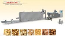 Texture soy protein nuggets machine