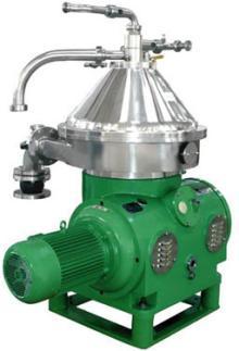 Citrus juices centrifuge separator
