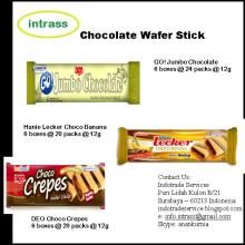 Chocolate Wafer Stick