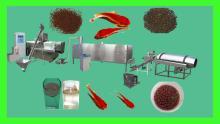 Floating fish feed/food/fodder pellet extruder machine