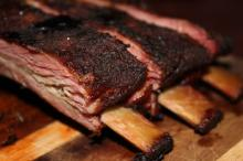 dried smoked meat