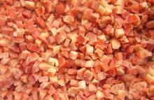 Кубики красного перца IQF, замороженные кубики красного перца