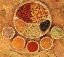 Spices: Chilli, Ginger, Garlic, Turmeric, Anise, Lemongrass, Onion