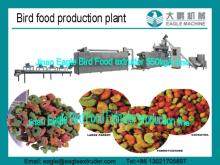 pet parrot bird food making machine extruder production line and processing