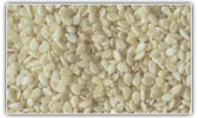 Hulled Sesame Seeds / Toasted Hulled Sesame Seeds .