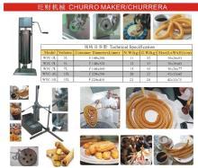 churro churrera maker making machine device