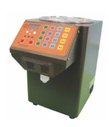 boba bubble tea syrup fructose dispenser filling machine